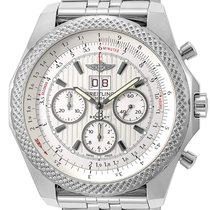 Breitling Bentley 6.75 Steel 49mm Silver