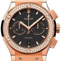 Hublot Classic Fusion Chronograph Unworn Rose gold 42mm Automatic
