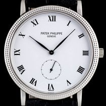 Patek Philippe Calatrava White gold 33mm White Roman numerals