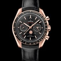 Omega 304.63.44.52.01.001 Or rose 2021 Speedmaster Professional Moonwatch Moonphase 44,25mm nouveau