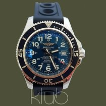 Breitling Superocean II 42 Steel 42mm Blue Arabic numerals