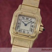 Cartier Lady Santos 18k (0,750) Gold Damenuhr Ref. 1569 Klassiker
