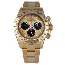 Rolex DAYTONA 18K Yellow Gold Watch Champagne