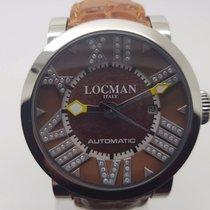 Locman Italy Toscano Diamond Mens Wrist Watch ref 290