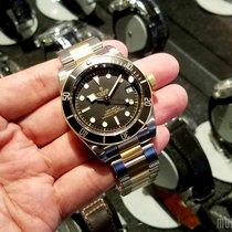 帝陀 (Tudor) 79733N (Steel & Gold Bracelet) Heritage Black Bay...