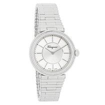 Salvatore Ferragamo Style Series Ladies Diamond Quartz Watch...