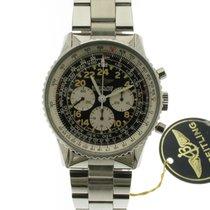 Breitling Navitimer Cosmonaute nuevo 1991 Cuerda manual Cronógrafo Reloj con estuche y documentos originales 81600