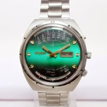Orient Perpetual Calendar XL Automatic SERVICED Day/Date Green...