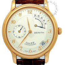 Zenith Elite Power Reserve new Manual winding Chronograph Watch with original box and original papers 17.0240.655