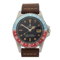 Rolex GMT-Master Pepsi Gilt Dial Stainless Steel Men's 1675 -...