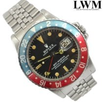 Rolex GMT Master 1675 Pepsi blue and red 1972's