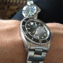 Rolex Submariner (No Date) 5513, SPIDER DIAL, with B & P - 1985
