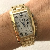 Cartier Tank Américaine - 2 years warranty by / 2 Jahre...