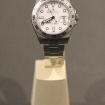 Rolex Explorer II neu 2016 Automatik Uhr mit Original-Box und Original-Papieren 216570-0001