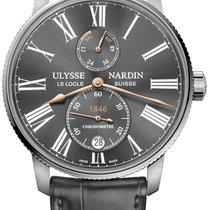Ulysse Nardin Marine Torpilleur Steel Grey
