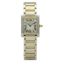 Cartier Tank Française Steel 20mm Champagne Roman numerals United Kingdom, Liverpool