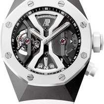 Audemars Piguet Royal Oak Concept Titanium 44mm Transparent No numerals