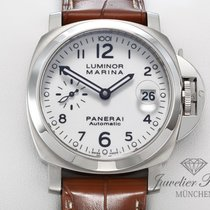Panerai Luminor Marina Automatic Steel 40mm White Arabic numerals