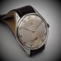 Omega Staal Handopwind Zilver Arabisch 37mm tweedehands