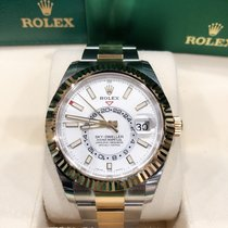 Rolex Gold/Steel 42mm Automatic M326933-0009 new