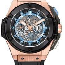 Hublot King Power Oro rosa 48mm Senza numeri