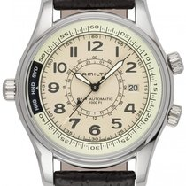 Hamilton Khaki Navy UTC Steel 42mm Champagne