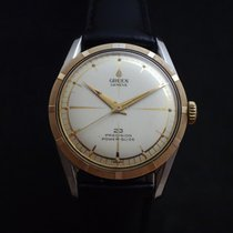 Gruen Gold/Steel 33mm Automatic Precision pre-owned