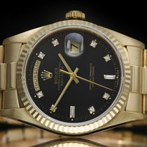 Rolex Automatic Black 18mm Day-Date 36
