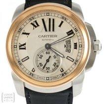 Cartier gebraucht Automatik 43mm Silber Saphirglas