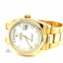 Rolex Yellow gold 36mm Automatic 118208 pre-owned