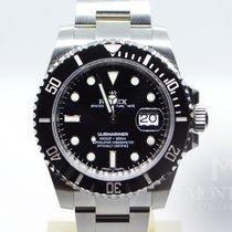 Rolex Submariner Date Acier 40mm Noir Sans chiffres Belgique, Bruxelles
