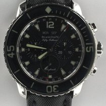 Blancpain Fifty Fathoms Acier 45mm Noir France, Bordeaux