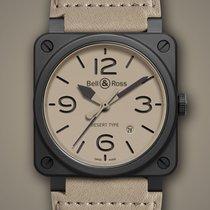 Bell & Ross BR0392-DESERT-CE Ceramic BR 03 42mm new