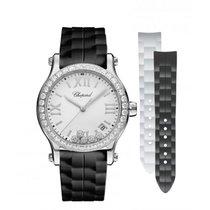 Chopard Ladies 278582-3003 Happy Sport Diamonds  Watch