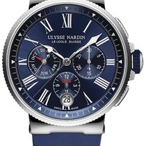 Ulysse Nardin Steel 43mm Automatic Marine Chronograph new United States of America, New York, Airmont