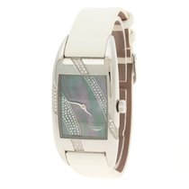 Longines Mother of Pearl And Diamonds Stainless Steel Watch