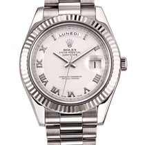 Rolex Oyster Day-Date II 41mm White Gold 218239