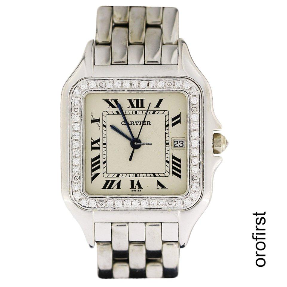 Diamanti Ref E Panthere 383969 Oro Cartier yfgYb76