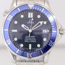 Omega Seamaster 300m James Bond 41mm Top Blue Diver B+P 2003