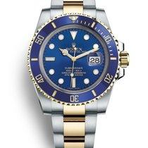Rolex Submariner Date new 40mm Gold/Steel