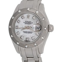 Rolex Lady-Datejust Pearlmaster White gold 28mm Mother of pearl No numerals United States of America, Texas, Dallas