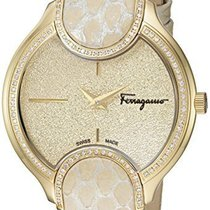 Salvatore Ferragamo Gold/Steel Quartz FIZ080015 new