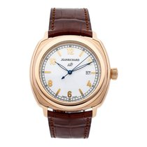 JeanRichard 44mm Automatic pre-owned 1681 White