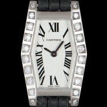 Cartier Lanières Or blanc 18mm Argent Romains