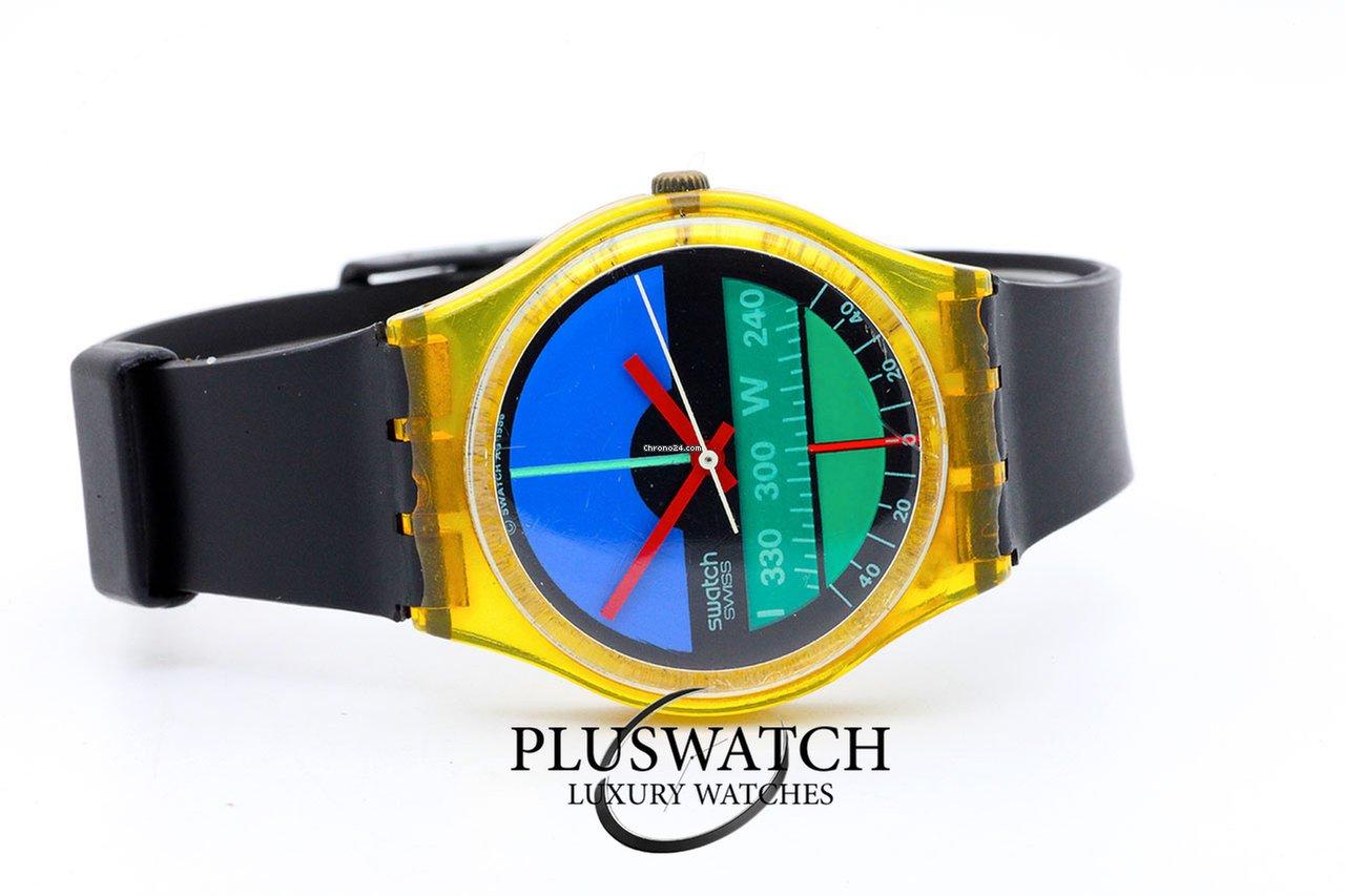 designer nuovo e usato scarpe casual vendita a basso prezzo Swatch Nautilus 34 mm Quartz GK102