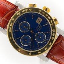 Girard Perregaux GP 7000 Gold/Steel 38mm Blue No numerals