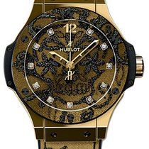 Hublot Big Bang Broderie Yellow gold 41mm Black United States of America, Florida, Sunny Isles Beach