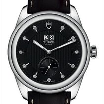 Tudor Glamour Double Date 57100-0019 new