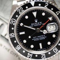 Rolex GMT-Master II Staal 40mm Zwart Geen cijfers Nederland, Haarlem