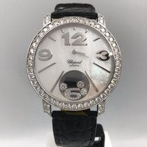 Chopard tweedehands Quartz 40mm Parelmoer Saffierglas